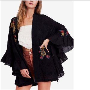 Free People Dottie West Kimono XS/S